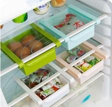 Fridge Storage Box Multifunction Plastic Kitchen Space Saver Shelf Rack ... - $14.36