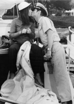 The Boatniks 1970 Stefanie Powers kisses Robert Morse on boat 5x7 inch p... - $5.75