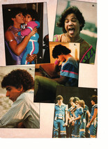 Menudo teen magazine pinup clipping multi pictures holding his sister Bop - $3.50