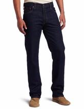 NEW LEVI'S STRAUSS 505 MEN'S ORIGINAL STRAIGHT LEG INDIGO JEAN PANTS 505-0216
