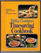 Betty Crocker's Timesaving cookbook Crocker, Betty - $6.99