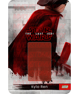 Star Wars Kylo Ren The Last Jedi Custom Lego Card Back w/Blister - No Mi... - $5.00