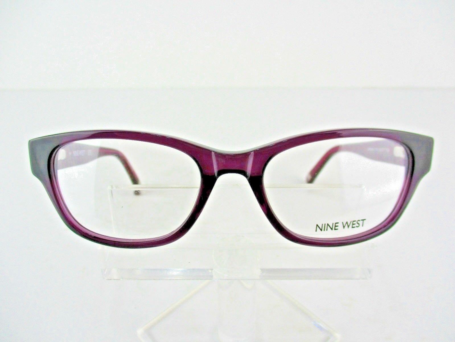 Nine West NW 5114 (515) Purple Crystal 50 x 17 135 mm Eyeglass Frames