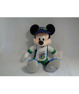 Disney 2009 Dated Mickey Mouse Bean Bag Plush Blue, White and Green Outfit - $6.88