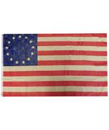 Betsy Ross Vintage 100D Woven Poly Nylon 3x5 3'x5' Flag Banner Grommets ... - £7.23 GBP