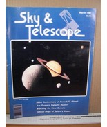 Sky & Telescope Magazine March 1981 200th Anniversary of Herschel's Planet - $8.99