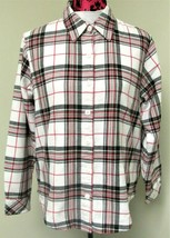 Riders by Lee Women's Fleece Lined Flannel Shirt Size Medium - $16.99