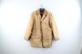 Vintage 90s Banana Republic Mens Small Flannel Lined Thrashed Chore Barn... - $98.95