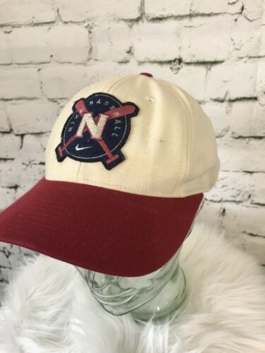 Nike Baseball Cap Maroon Tan Mens Hat