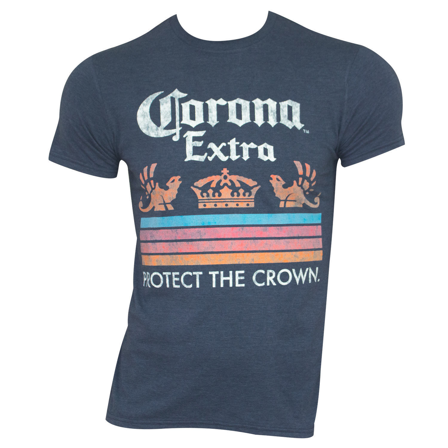 c3d5a092a0f512 Corona Extra Protect The Crown Tee Shirt Blue and 48 similar items. S l1600