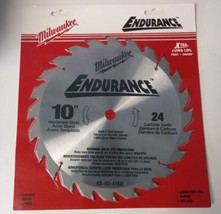 "Milwaukee 48-40-4160 10"" x 24 Carbide Teeth Circular Saw Blade (Carded) - $14.85"