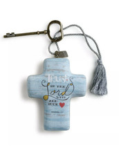 DEMDACO Trust In The Lord With All Your Heart, Artful Cross, Hangs Or St... - $18.76