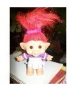 "1998 5"" Cheerleader Troll Doll - $24.70"
