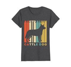 Vintage Style Australian Cattle Dog Silhouette T-Shirt - $19.99+