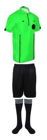 919d68d99a5 NEW! 2018 Pro Soccer Referee Shirt 3 Piece and 41 similar items. 3 piece  green