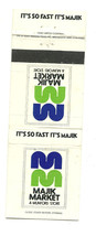 Majik Market Munford Store So Fast It's Majik Matchbook Cover - $2.87