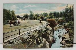 Duluth Minn Boulevard Dr. near Lester Park Postcard Early Horse Buggy Vi... - $9.95
