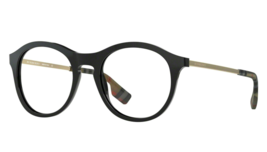 Brand New BURBERRY Eyeglass Frames BE2287 3001 Black For Men Women Size 50 - $376.20
