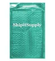 1-500 #000 4x8 Poly ( Teal ) Color Bubble Padded Bubble Mailers Fast Shi... - $0.99+