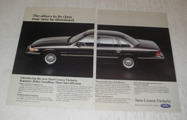 1992 Ford Crown Victoria Ad - The others in its class may now be dismissed - $14.99