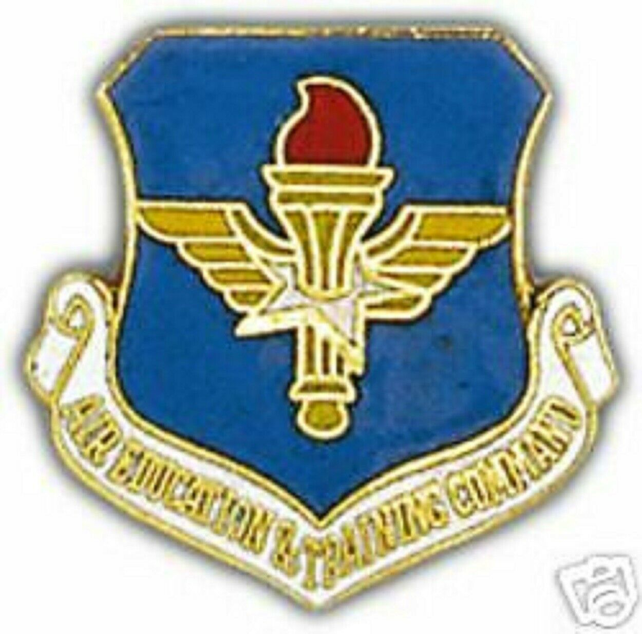 USAF AIR FORCE AIR EDUCATION & TRAINING COMMAND PIN - $15.33