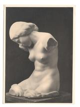Nude Sculpture Josef Riadl Madchen Girls Torso Wien Karl Kuhne 4X6 RPPC ... - $9.95