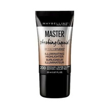 Maybelline Facestudio Master Strobing Liquid Illuminating Highlighter 200 Medium - $8.10