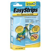 Tetra EasyStrips 6-in-1 Aquarium Test Strips 25-Count - $13.94