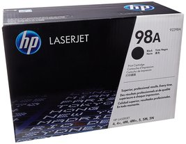 Genuine HP 98A (92298A) Black Original Toner Cartridge Bin: 3 - $64.99