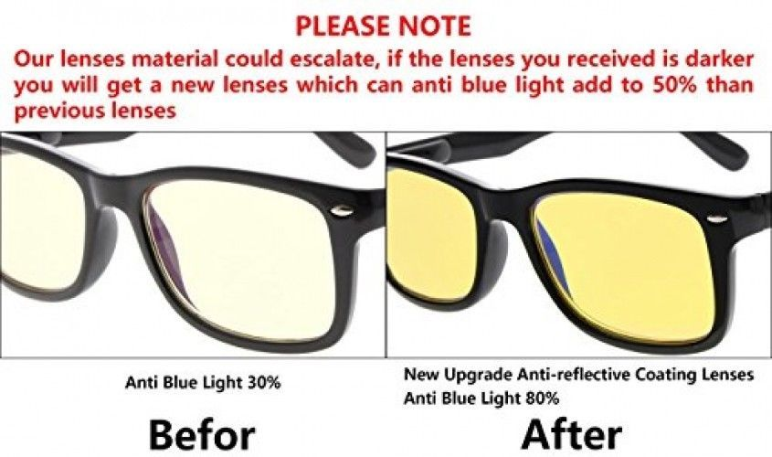 Eyekepper Blue Light Blocking Glasses Digital Eye Strain Prevention Womens