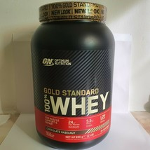 Optimum Nutrition Gold Standard 100% Whey Powder Chocolate Hazelnut 896g - $36.49