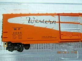 Micro-Trains # 50500482 Western Pacific  50' Standard Boxcar Z-Scale image 2