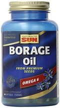 Health From The Sun Borage Oil, 60 Softgels - $31.79