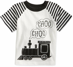 First Impressions Baby Boys' Raglan-Sleeve Train T-Shirt, Sizes 3 To 24 Months - $8.99
