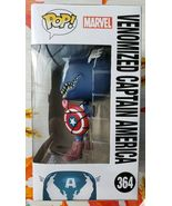 Funko POP! Marvel Venom #364 Venomized Captain America Figure Avengers B... - $17.99
