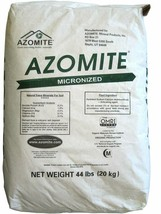 Azomite Micronized Natural Trace Minerals 44 Lbs Improves Root Systems Y... - $74.84