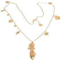 Necklace, 70 cm, Silver 925, Pendant Mermaid, Crab, Little Seahorse, le ... - $199.61