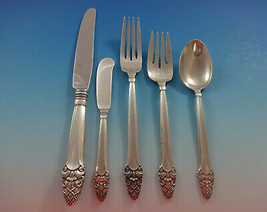 Sovereign Old by Gorham Sterling Silver Flatware Set 42 Pieces Stylized Acorn - $2,495.00