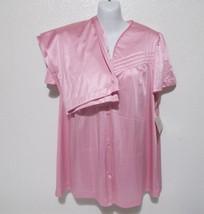 Vintage Vanity Fair Womens Pink Pajama Set Size Small Nylon NOS Tag USA - $34.64