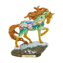 Vintage Christmas Painted Pony Figurine - $59.95