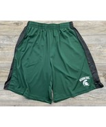 Colosseum Shorts Michigan State University Spartans Men's 2XL Green Poly... - $17.80