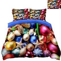 3D Christmas  Xmas 084 Bed Pillowcases Quilt Duvet Cover Set Single Queen King - $64.32+