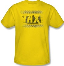 Taxi T-shirt retro 70s 80s TV land 100% cotton graphic yellow tee CBS133 image 1
