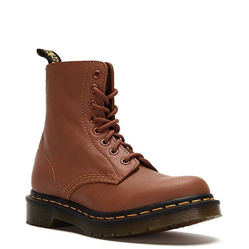 Dr. Martens Women's Pascal 8-eye-lace-up Boots 21419220 Tan, UK 5 / US Men's 6 W
