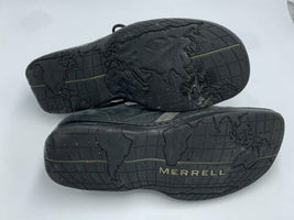 Merrell Mens 10 Charcoal Black Oxford Lace Up Leather Shoes image 6
