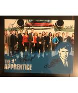 "Lot Of 11 Autographed Original Signed 7 1/2""x 10"" Photo ""The Apprentice"" - $296.01"