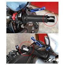 OSBUN Handlebar Grips Bar Ends Slider with Hex Key For YAMAHA MT-07 MT-09 MT-10  image 2