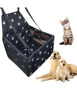 Waterproof Dog and Cat Carrier Car Seat, great for long journeys, ajustable - $34.99