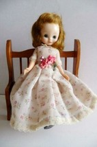 """Vintage 1950'S Betsy Mccall Doll 8"""" Red Hair Dress Panties Shoes Jointed - $123.75"""