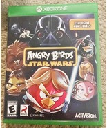 Angry Birds Star Wars (Microsoft Xbox One, 2013) with original case - $15.19